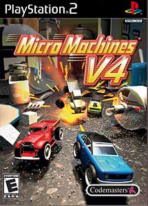 Micro Machines V4 PS2 ISO (Ntsc-Pal) (Esp/Multi) MG-MF