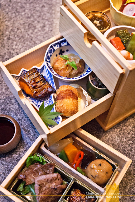 Shunbou Restaurant Grand Hyatt Tokyo Bento Box