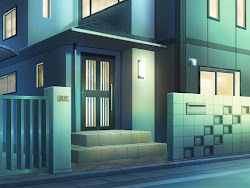 anime background landscape