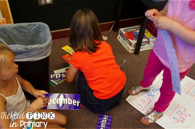Classroom Clean Up - Student Helping Teacher