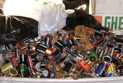Contaminación con pilas