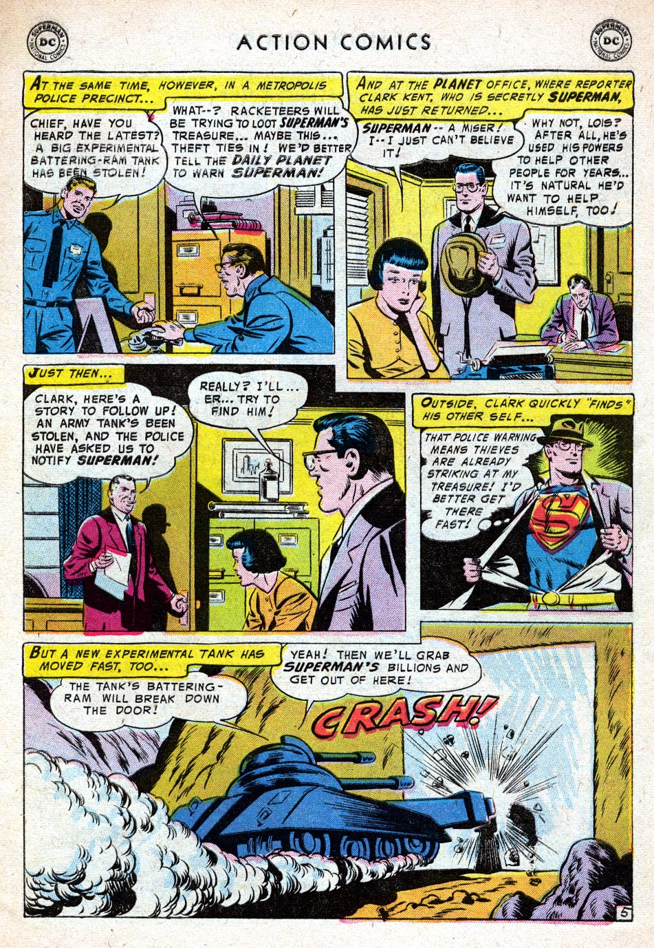 Read online Action Comics (1938) comic -  Issue #219 - 7