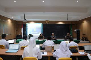 Pembukaan dan Pengarahan Pelaksanaan E-Test Calon Panitera Pengganti di  Wilayah Pengadilan Tinggi Agama Palembang