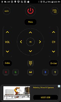 Aplikasi Android Universal TV Remote