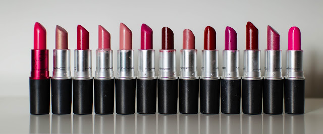 Ma Collection Rouge à lèvre Mac !