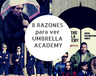 8 Razones para ver The Umbrella Academy