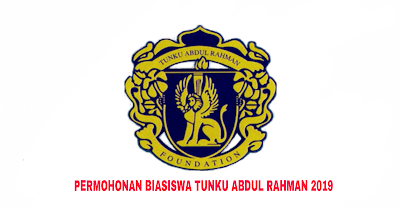 Permohonan Biasiswa Tunku Abdul Rahman (BTAR) 2019 Online