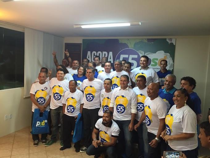 PSD São Luís promove apresentação dos pré-candidatos a vereadores da capital e conta com a presença de toda a municipal