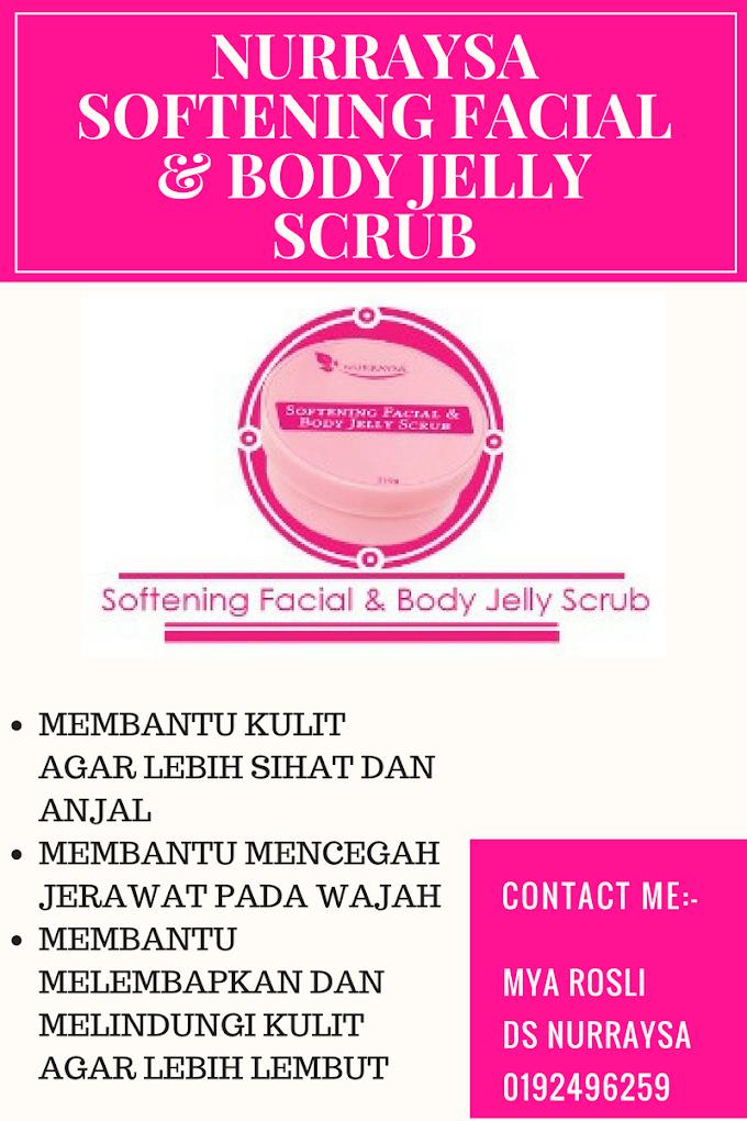 Nurraysa Softening Facial & Body Jelly Scrub