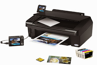 w is a color inkjet printer amongst functions similar impress Download Driver Epson Stylus TX550W Printer