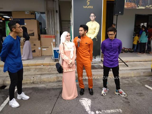 Airel Zafril, Wawa Zainal & Chazy Nash sebagai selebriti jemputan