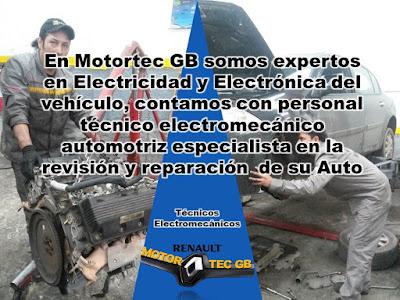 Motortec GB Especialistas en Electricidad y Electronica