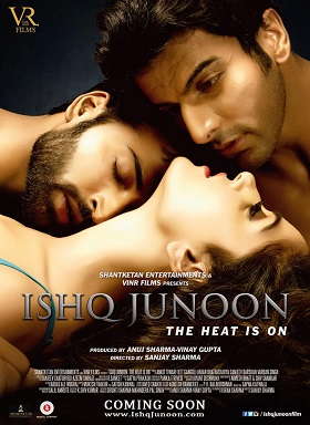 Poster Of Ishq Junoon 2016 480p Hindi DVDScr Full Movie Download