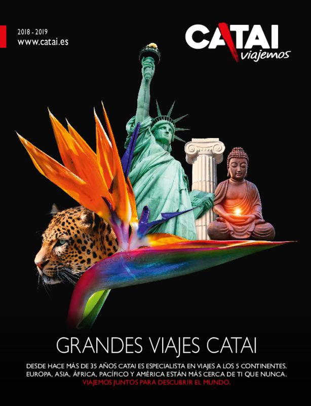Catálogo Catai Circuitos Europa, África, Asia, América 2018-19