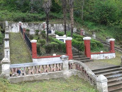 Cementerio protestante francés. Tumba de Numa Gilhou