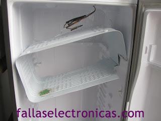 como quitar freezer de refrigerador