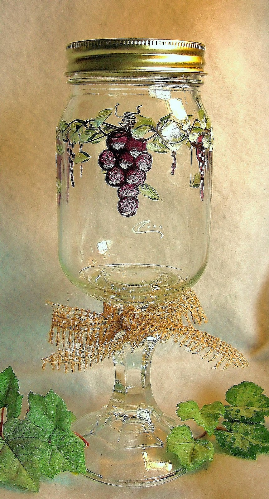 Redneck Wine Glasses by Wineslippers Creations