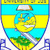 UNIJOS 2016/17 1st Semester Resumption & Lecture Commencement Notice