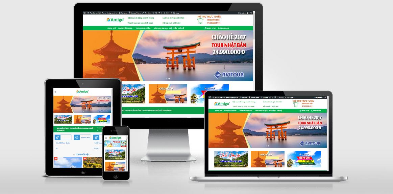 Theme WordPress giới thiệu tour du lịch Việt hóa
