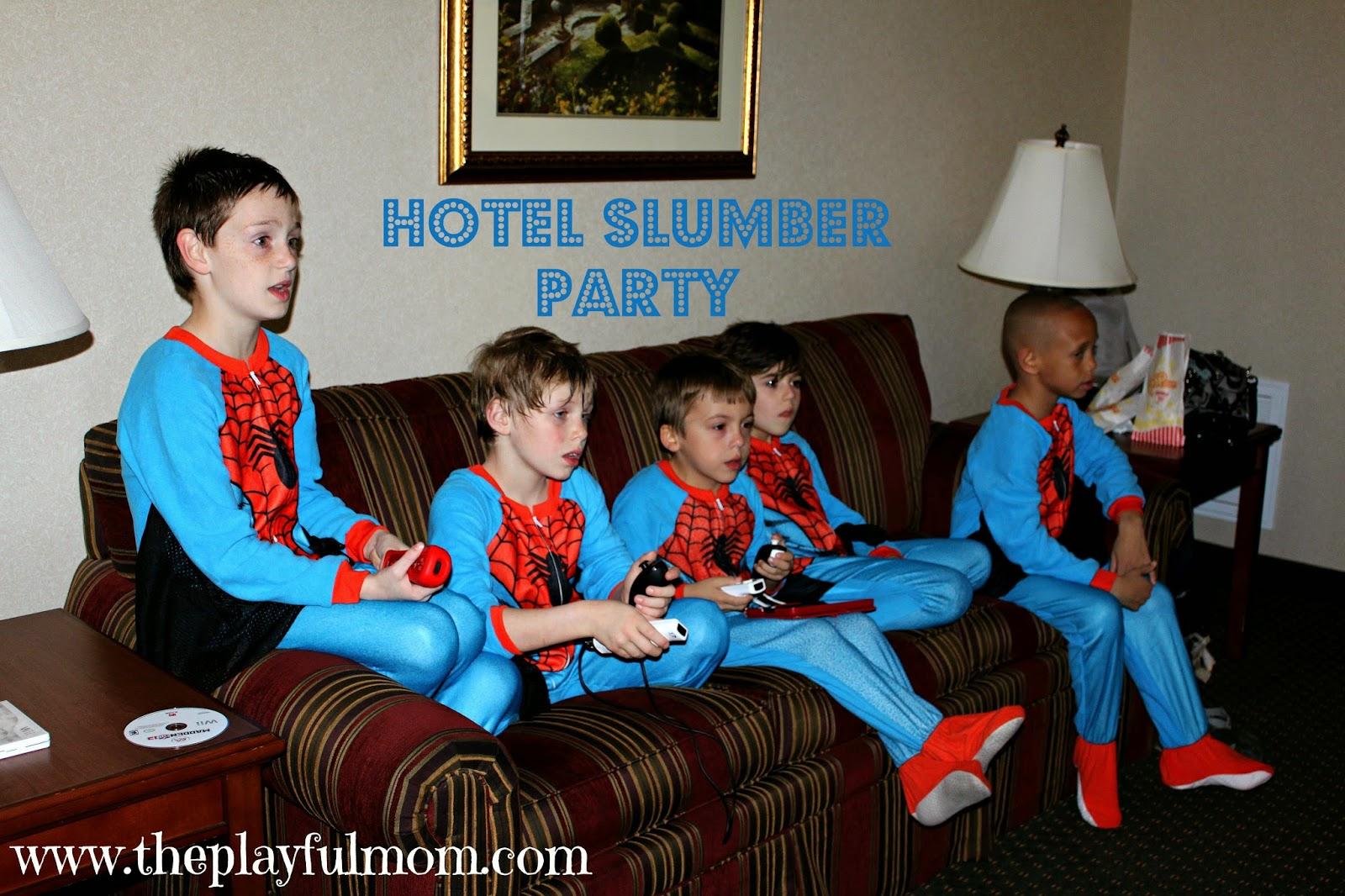 Slumber Party Boys