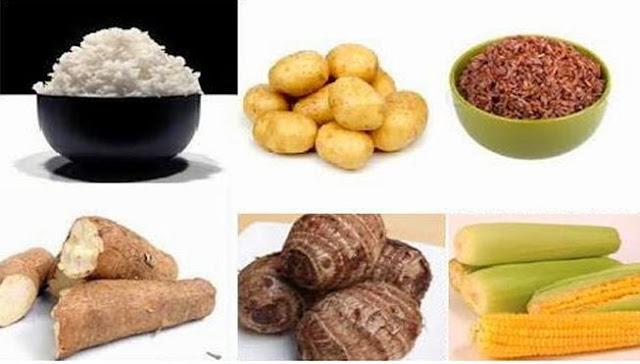 Makanan yang mengandung karbohidrat