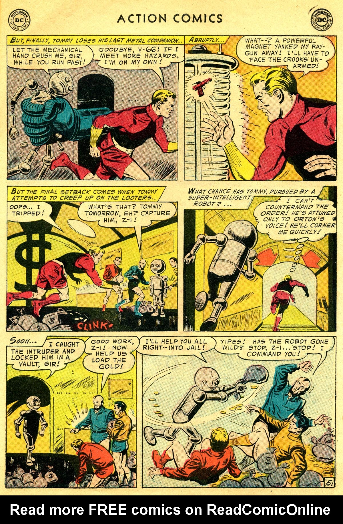 Read online Action Comics (1938) comic -  Issue #225 - 31
