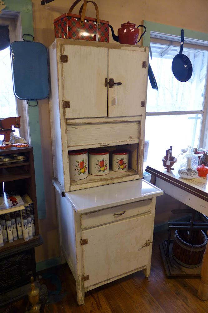1930s Marsh Apartment Sized Hoosier Style Cabinet