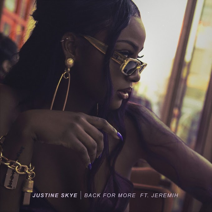 [MUSIC] this is new from wizkid babe Justine Skye
