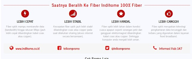 Kelebihan Dan keunggulan Fiber Indihome 100% Fiber