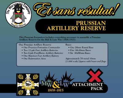 Prussian Artillery Reserve