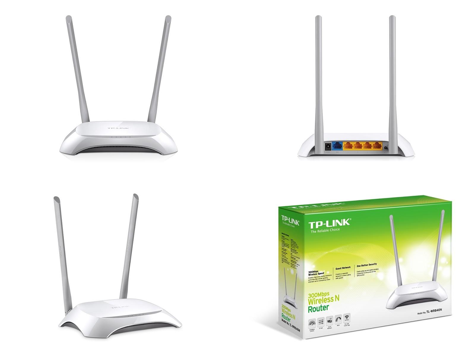 Tp Link Wifi Tl Wr840n 300mbps Wireless N Router Sinyal Jauh Wr 840n Tplink Tersedia Juga Merek Model Lainnya