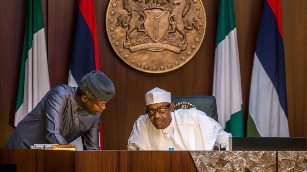 Buhari-Osinbajo1-Debt profile risen under Buhari government