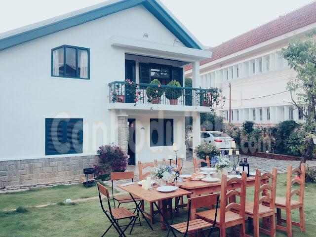 Villa Viettrip MS có sân rộng