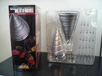 Super Robot Chogokin Gurren Lagann Drill Set of Manliness Insert Tray