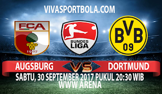 Prediksi Augsburg vs Borussia Dortmund 30 September 2017