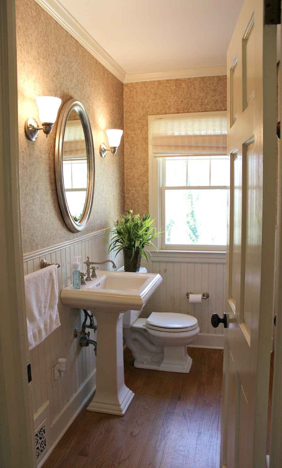 Ten June: Guest Bathroom Makeover: The Final Before & After