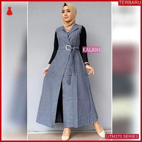 UTM270K54 Baju Kalani Muslim Outer UTM270K54 10E | Terbaru BMGShop