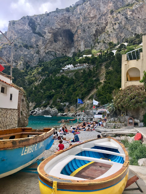 Easter in Capri