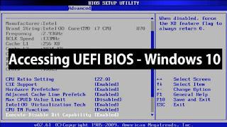Cara Masuk Bios Windows 10 Terlengkap