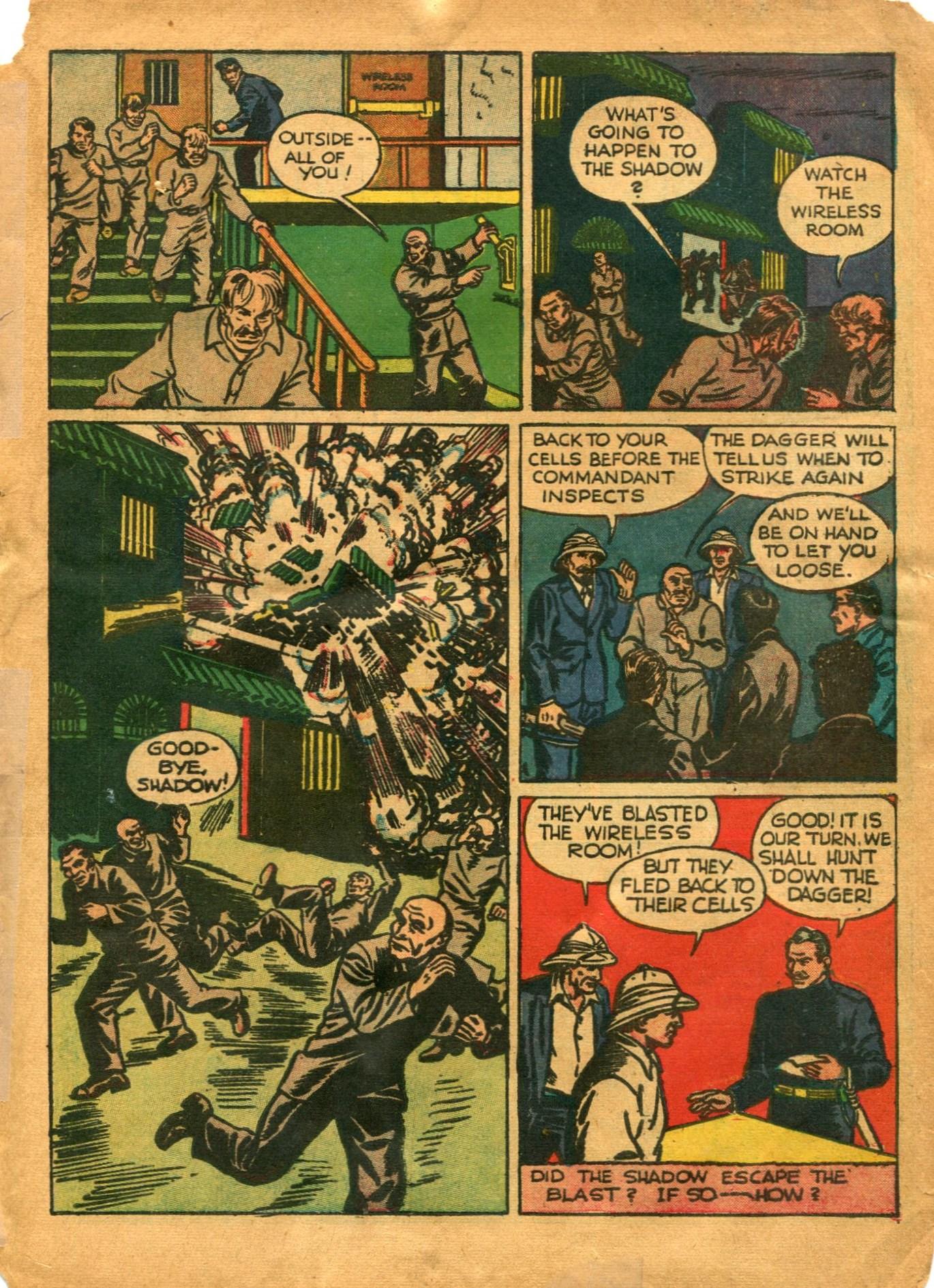 Read online Shadow Comics comic -  Issue #12 - 11