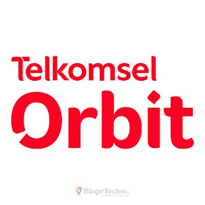 Telkomsel Orbit Logo Vector