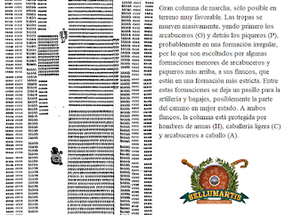 formacion de marcha en gran columna FORMACIONES DE LOS TERCIOS EN EL SIGLO XVI BELLUMARTIS HISTORIA MILITAR