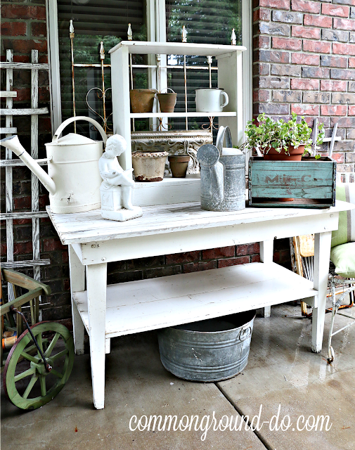 Common Ground Potting Bench And Patio