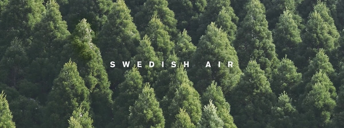 Volvo & Grey London package 'Swedish Air' In Latest Ad