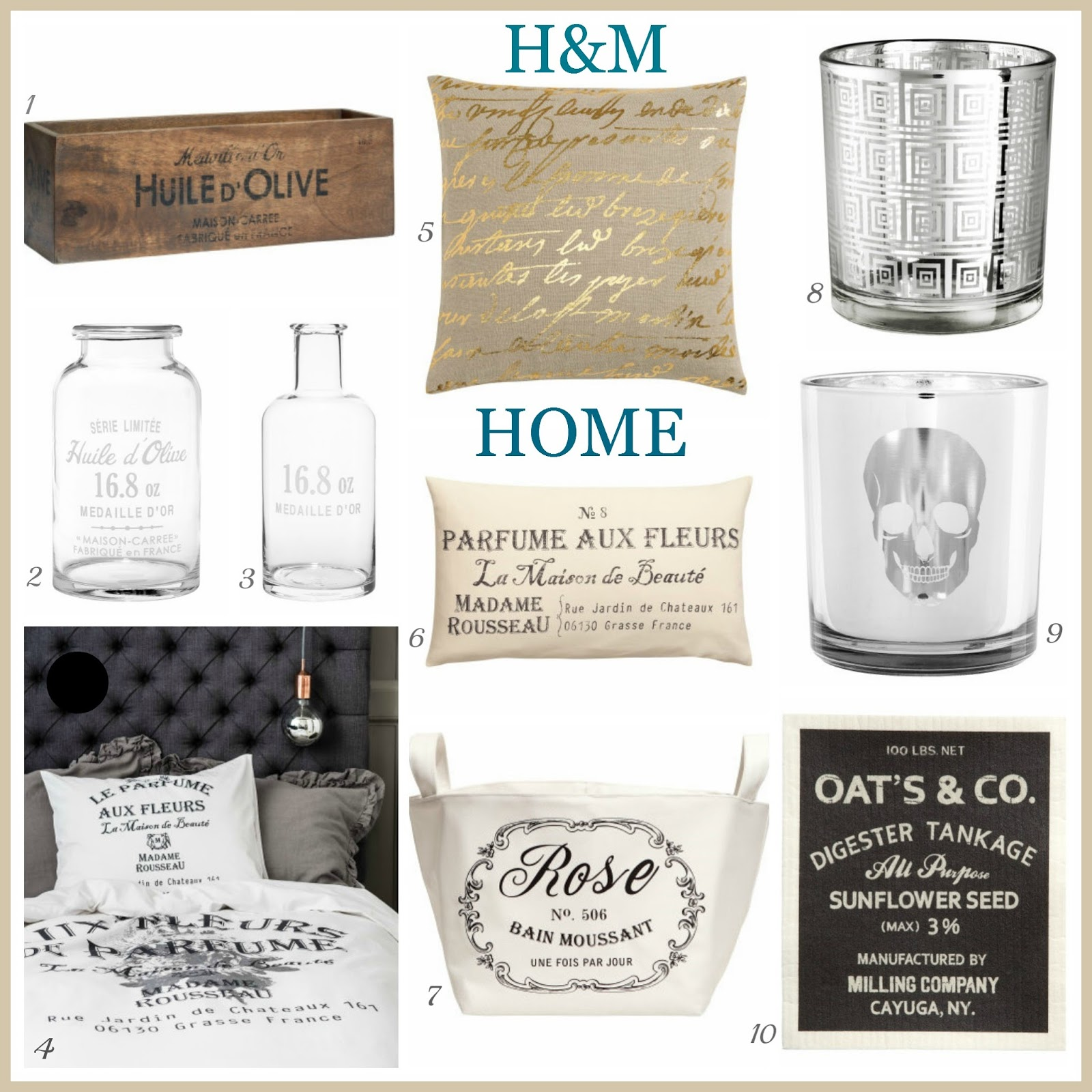 Tracys Notebook Of Style Hm Online Shopping Home Edition Under 30