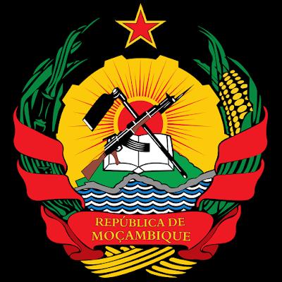 Coat of arms - Flags - Emblem - Logo Gambar Lambang, Simbol, Bendera Negara Mozambik