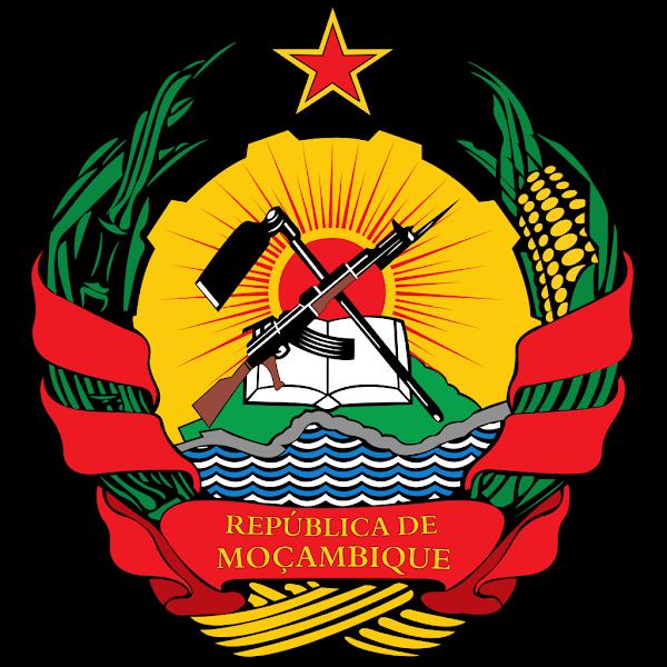 Logo Gambar Lambang Simbol Negara Mozambik PNG JPG ukuran 600 px