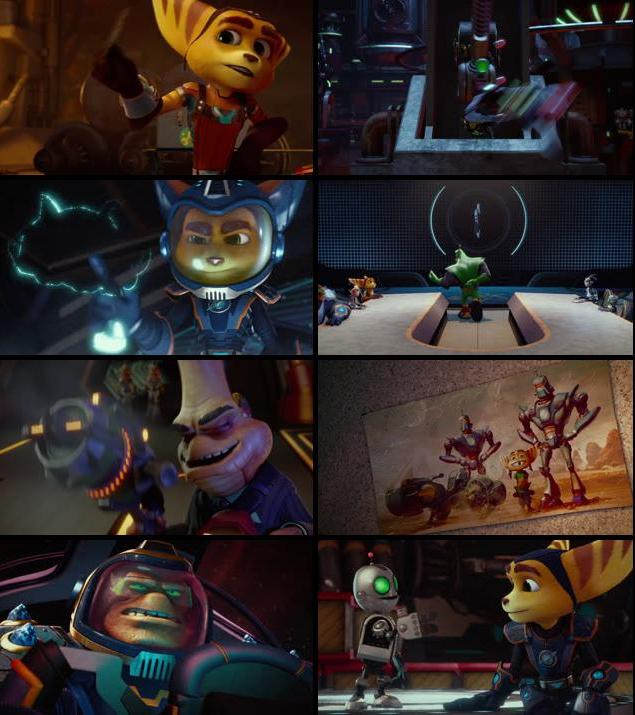 Ratchet and Clank 2016 English 720p BRRip