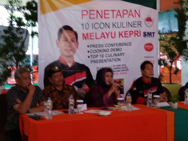 Penetapan 10 Icon Kuliner Melayu Kepri
