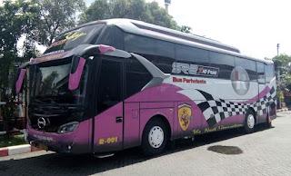Bus Pariwisata Legacy SR-2 XHD Prime PO. R-TRANS Surabaya